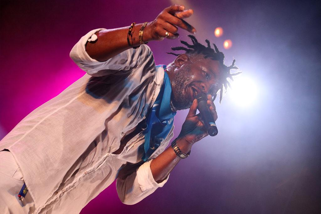 Cantante de música reggae
